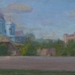 Батанов,Ачинск,холст ,масло,2012