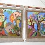 Деревья-абстрактная композиция