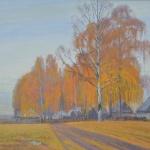 осень над деревней,2009