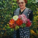 портрет валентины абрамс,2014