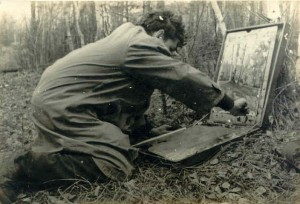 на этюдах 1960